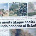 """""""Civiles"""" de Hamas enfrentan a Israel y sólo el diario paraguayo ABC lo pone de manifiesto"""