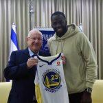 Campeón de la NBA se reunió con el presidente de Israel
