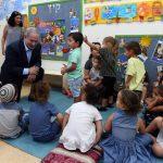 Netanyahu visita el sur de Israel tres meses después del comienzo del terrorismo incendiario