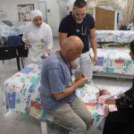 Docenas de sirios cruzan a Israel para una cita con el médico