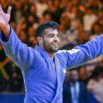 Himno israelí en Abu Dabi en honor a la victoria deportiva del Judoka israelí Sagi Muki