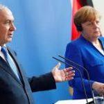 Merkel instó al presidente rumano a no mudar la embajada a Jerusalem