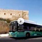 Autobuses eléctricos comenzaron a circular por las calles de Jerusalem