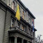 El presidente de Serbia iza la Estrella de David para marcar el Día de Recuerdo del Holocausto