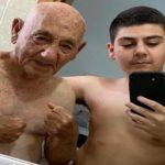 Ejemplar: Nieto se muda a la casa de su abuelo para compartir el aislamiento a causa de la pandemia